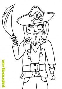 Malvorlage Pirat Malvorlagen Piraten Vorlagen