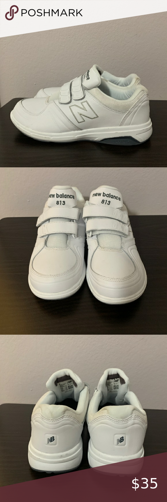 White Sneakers Size 9.5 Wide