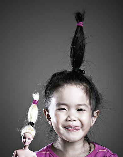 I'm a Barbie girl by Jason Lee. °
