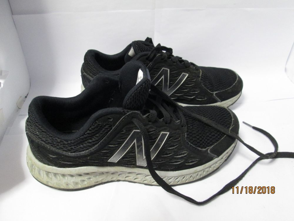 e8bc4f188 Men's New Balance 420v4 Black and Silver Pre-owned Running Shoes Sneakers  Size 8 #NewBalance #RunningShoes