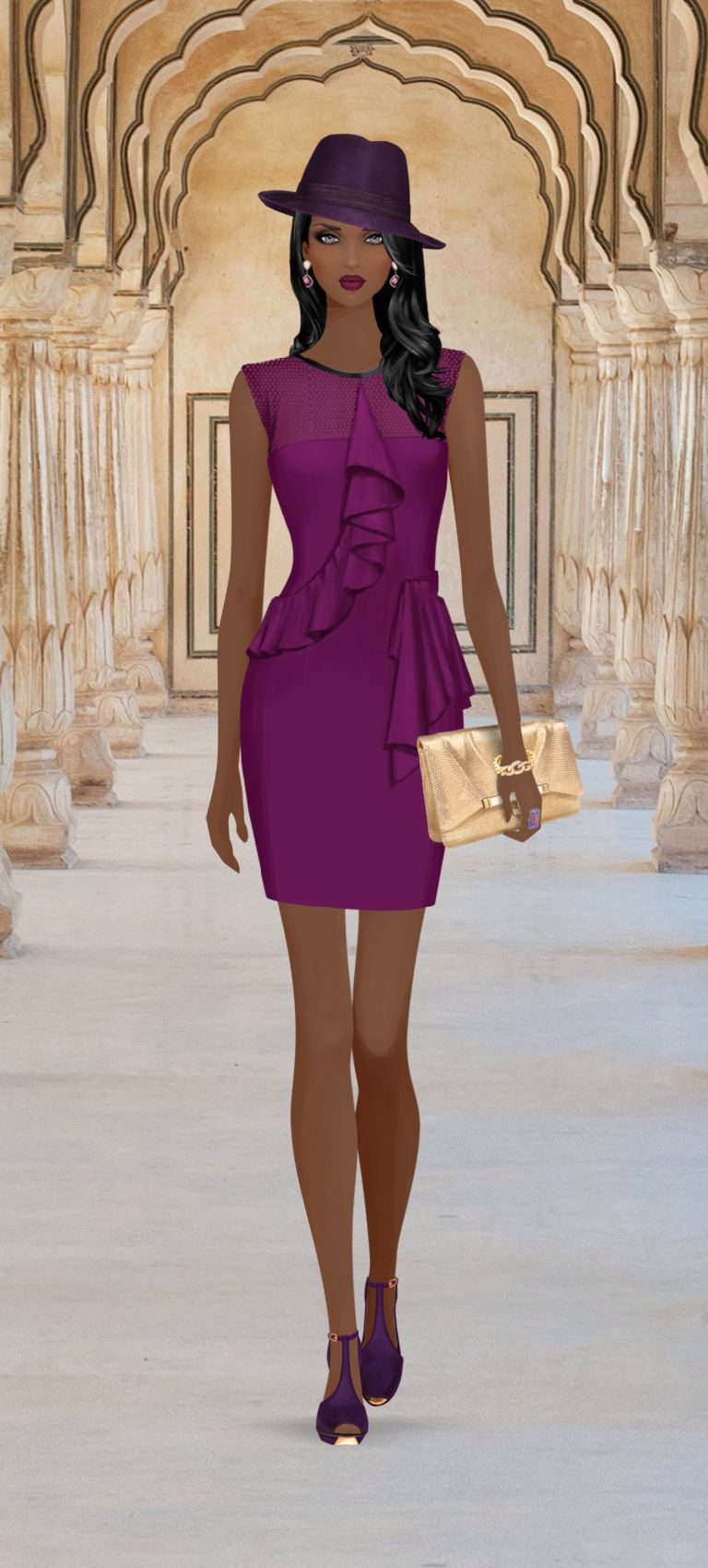 Fashion Game   ABG Fashion   Pinterest   Covet fashion, Croquis y ...