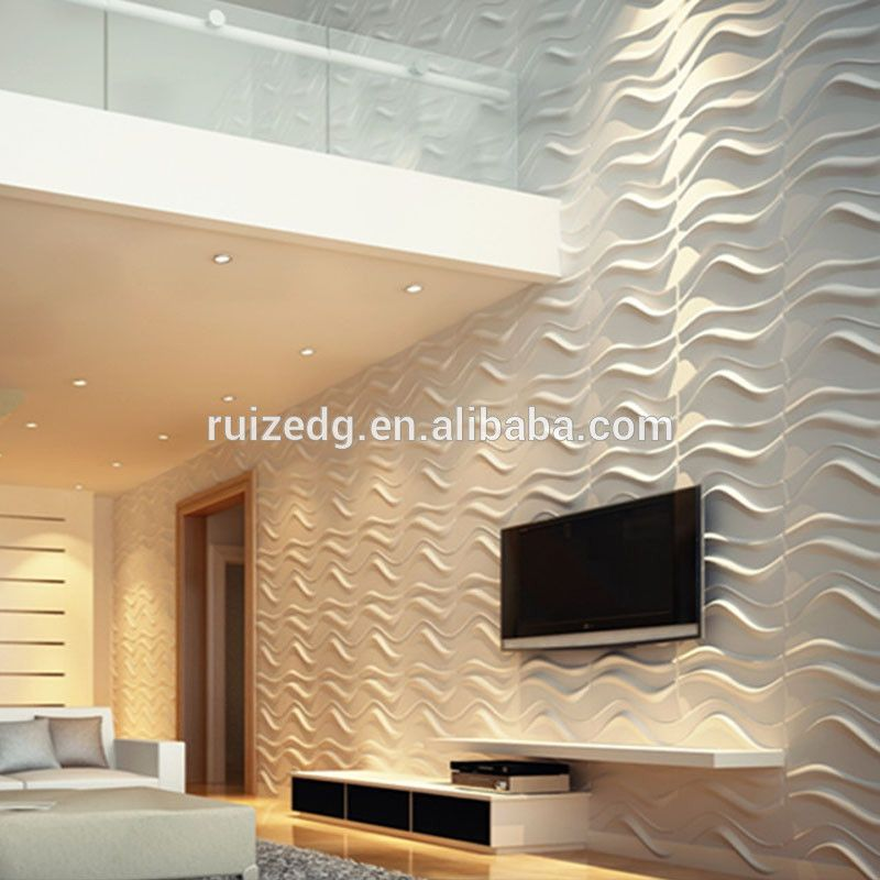 Decorative 3d Wall Boards For Tv Board With Effect
