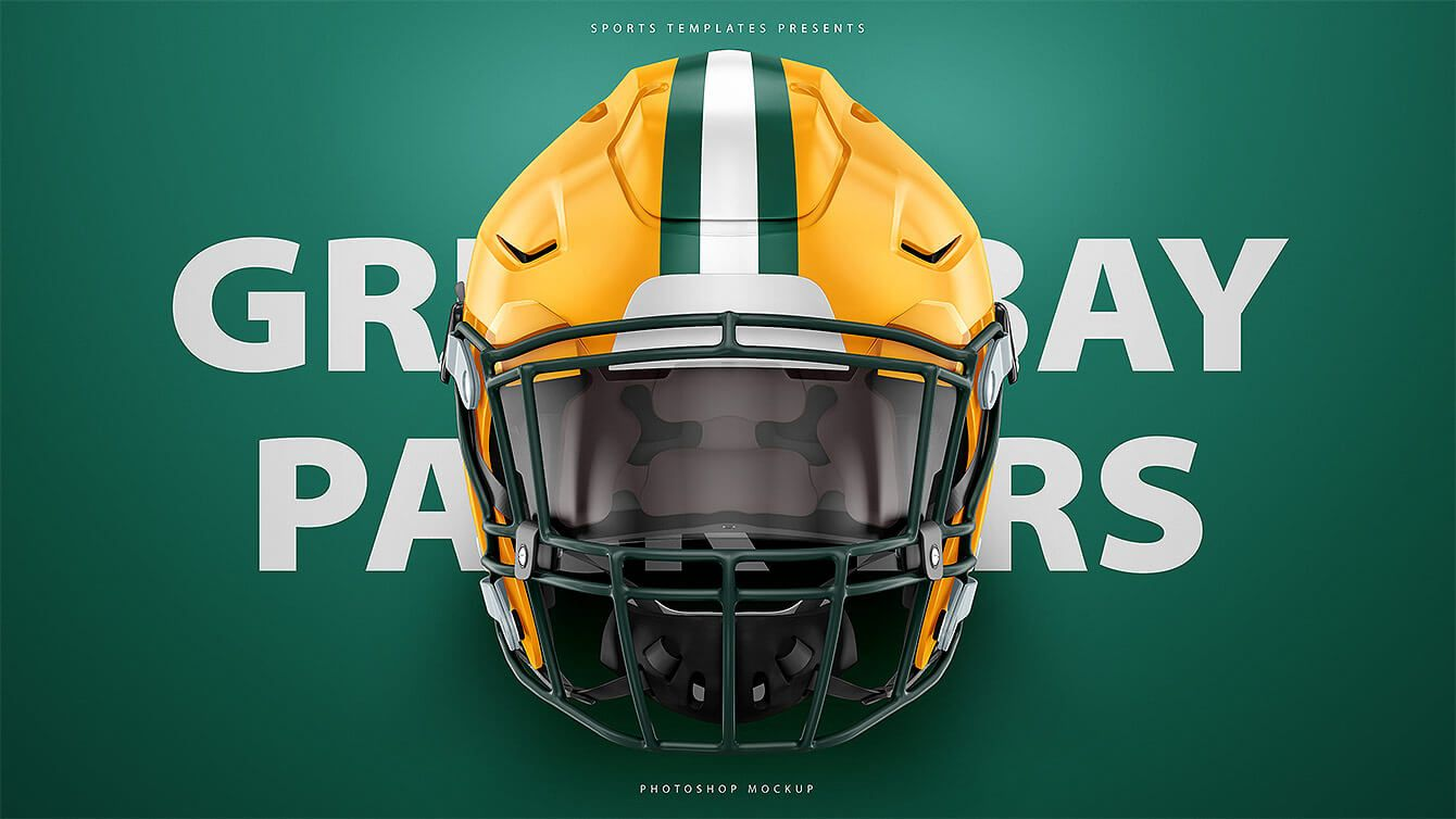 48f229846 Green Bay packers Riddell Speedflex Football helmet