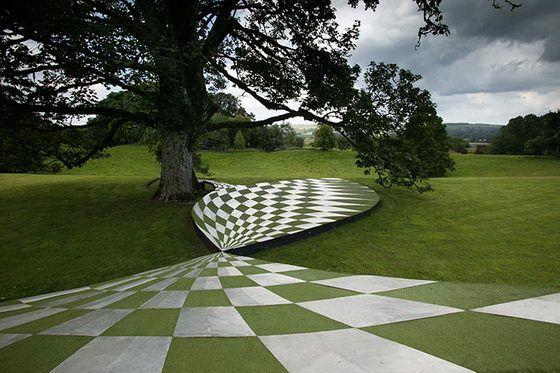 Famous Landscape Architecture Designs mind boggling landscape architecturecharles jencks | great