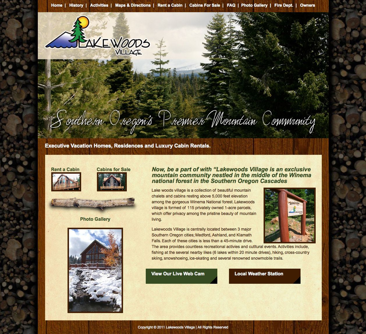 Web Design For Vacation Home Development Web Design Custom Web Design Custom Website Design