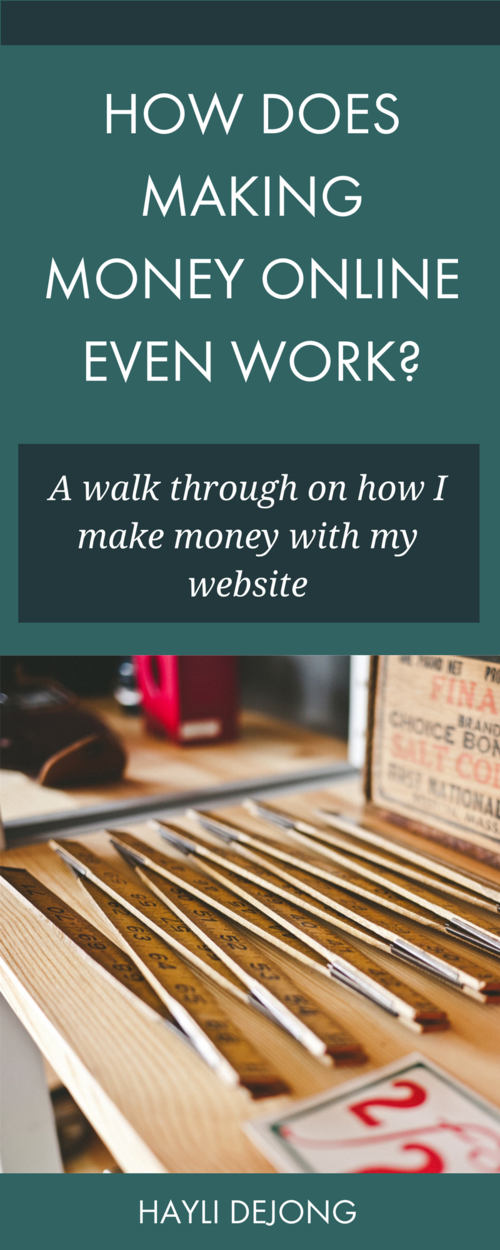 how does making money online even work