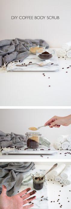 DIY KAFFEE PEELING SELBER MACHEN u2013 GESCHENKIDEE FÜR SIE Kaffee - küchen selber gestalten