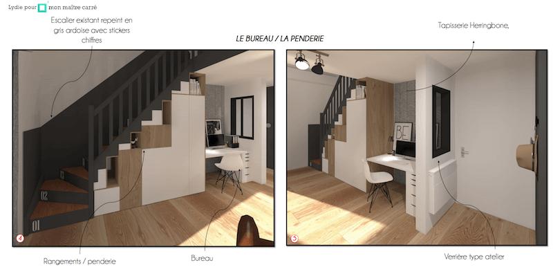 Avant/après : rénovation complète d'un salon à Lyon #homestagingavantapres Avant/après : rénovation complète d'un salon à Lyon #homestagingavantapres
