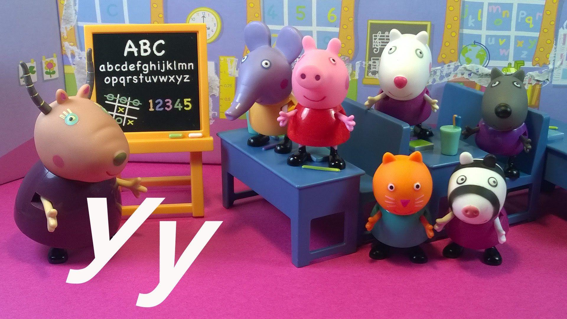Алфавит для детей. Учим буквы. Свинка Пеппа и Друзья в ...