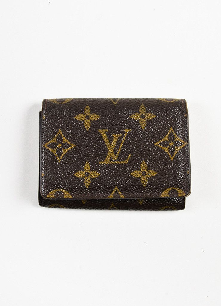 Louis Vuitton Brown Monogram Canvas \