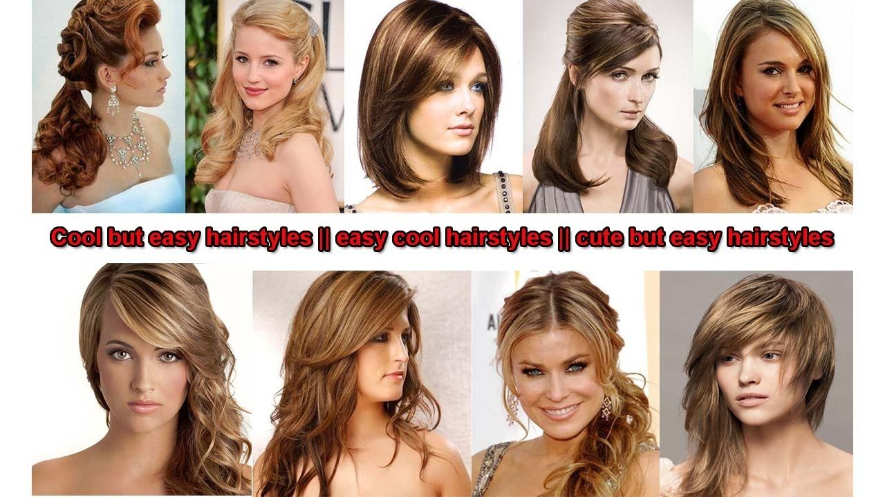 Cool but easy hairstyles easy cool hairstyles cute but easy