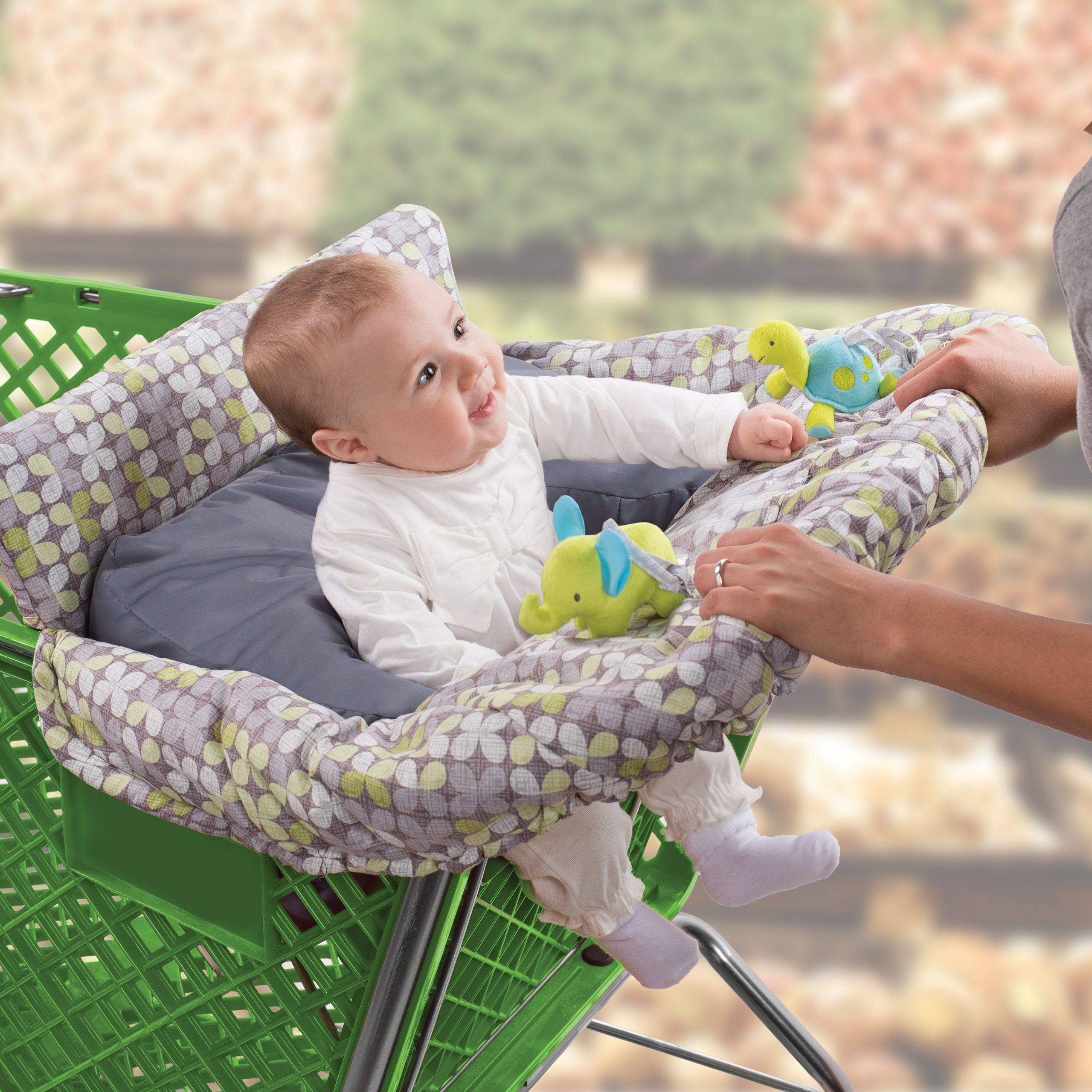: Summer Infant 2 in 1 Cushy Cart Cover and Seat