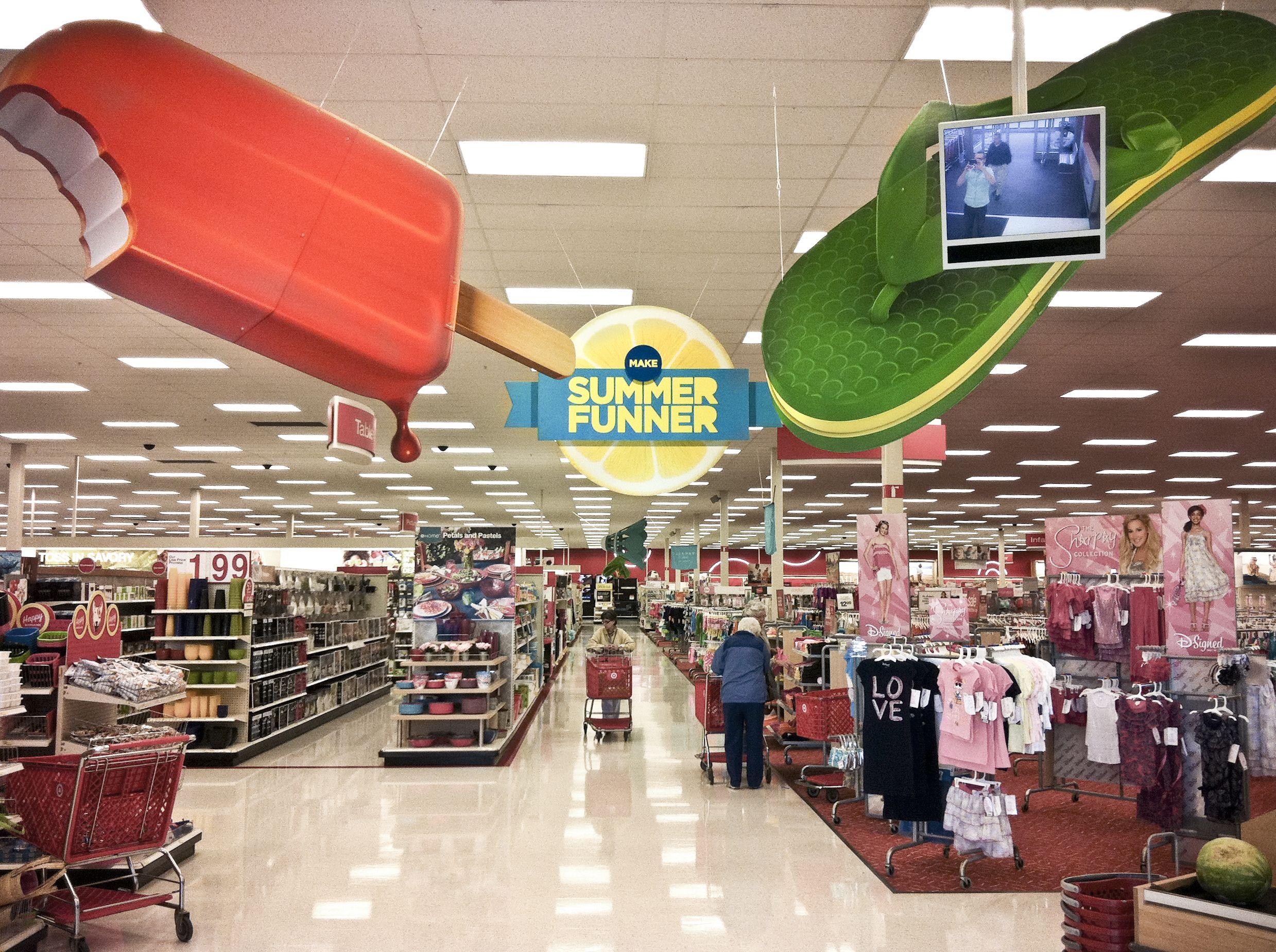 Target Summer Allan Peters Blog Retail Design Display Wellness Design Retail Inspiration
