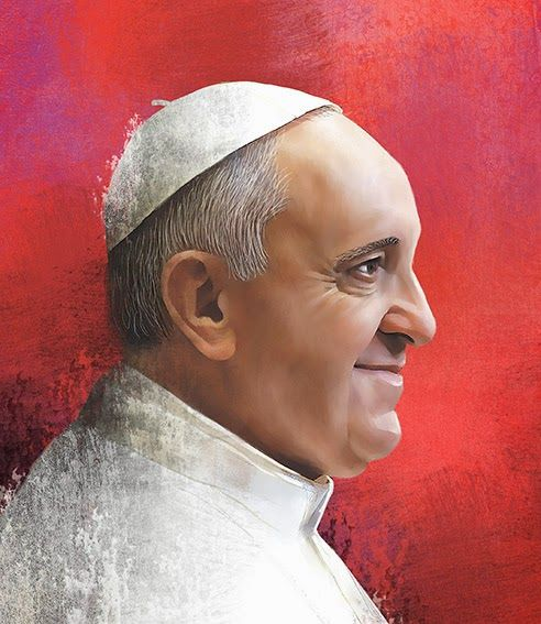 Pope Francisco by Luis San Vicente