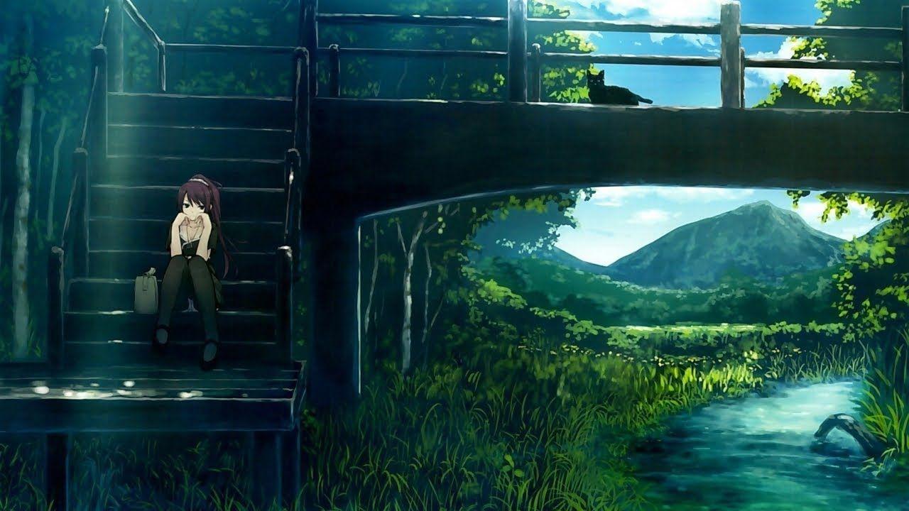 Chill Lofi Moving On Relaxing Instrumental Music Scenery Wallpaper Anime Scenery Anime Scenery Wallpaper