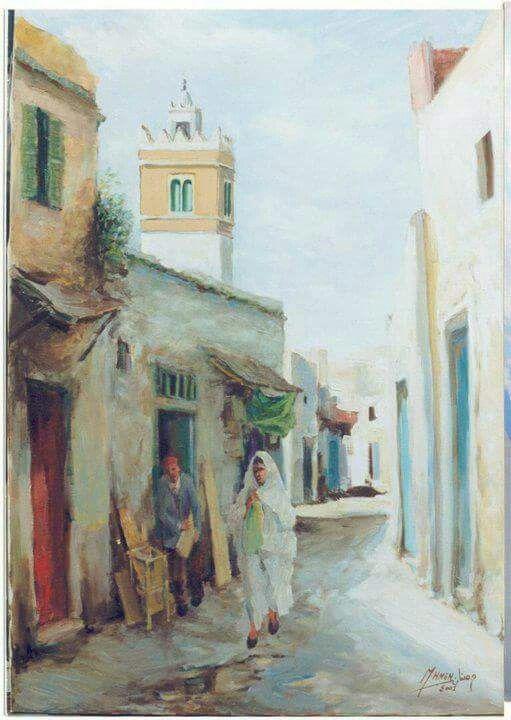 Peinture tunisienne   peintures   Pinterest