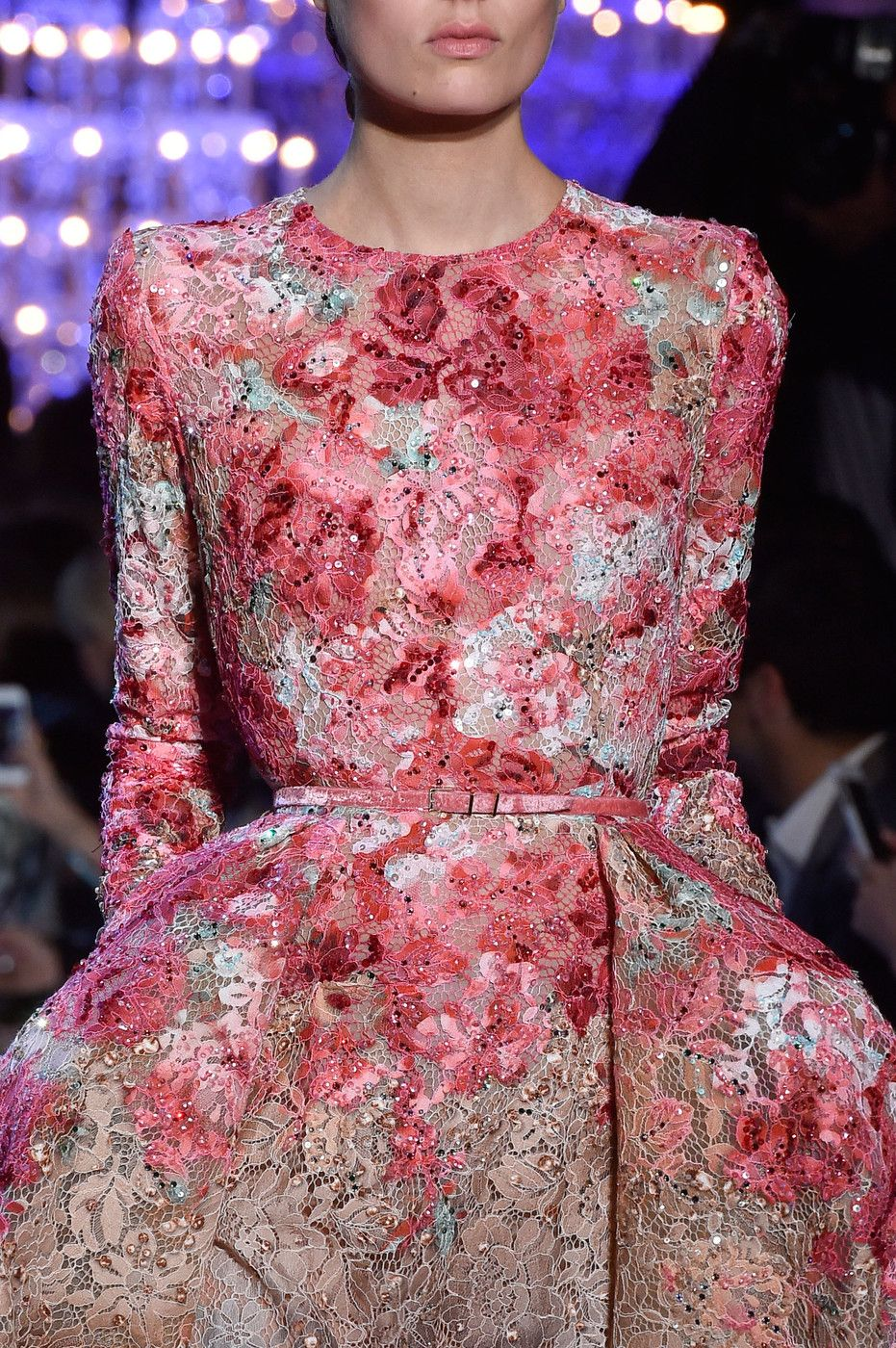 Elie Saab at Couture Fall 2014 (Details)