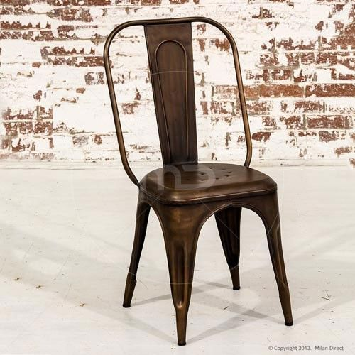 Tolix Cafe Chair  Xavier Pauchard Reproduction  Industrial