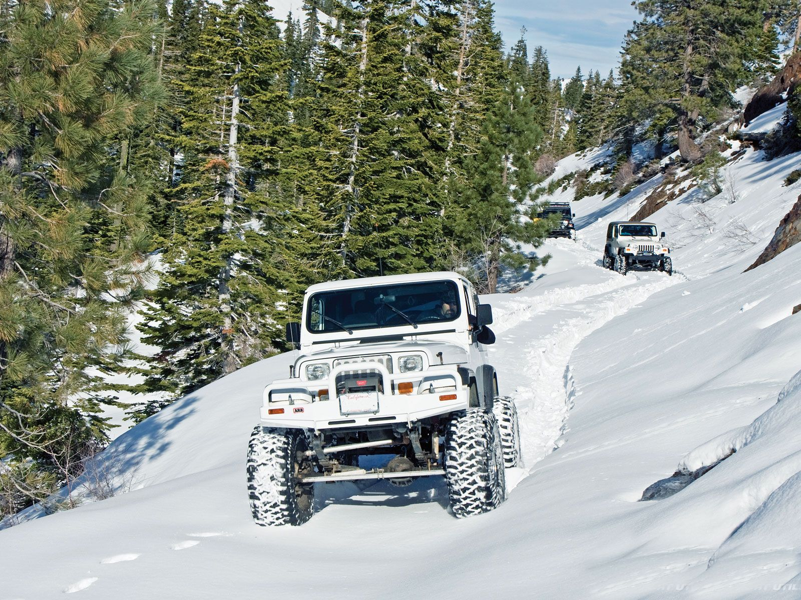 Tread Lightly U2013 Four Wheeling In The Snow Safely