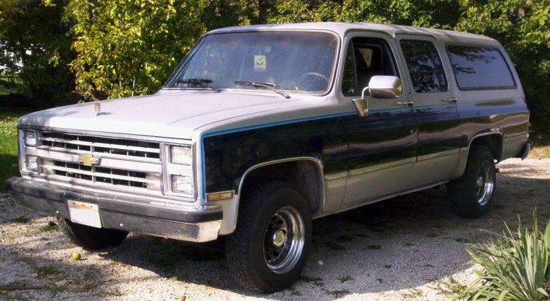 1985 Chevrolet Suburban Chevrolet Suburban Chevrolet Chevy Trucks