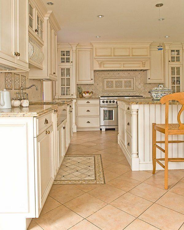 Granite With White Kitchen Cabinets: Santa Cecilia Granite Countertops Kitchen Renovation Ideas