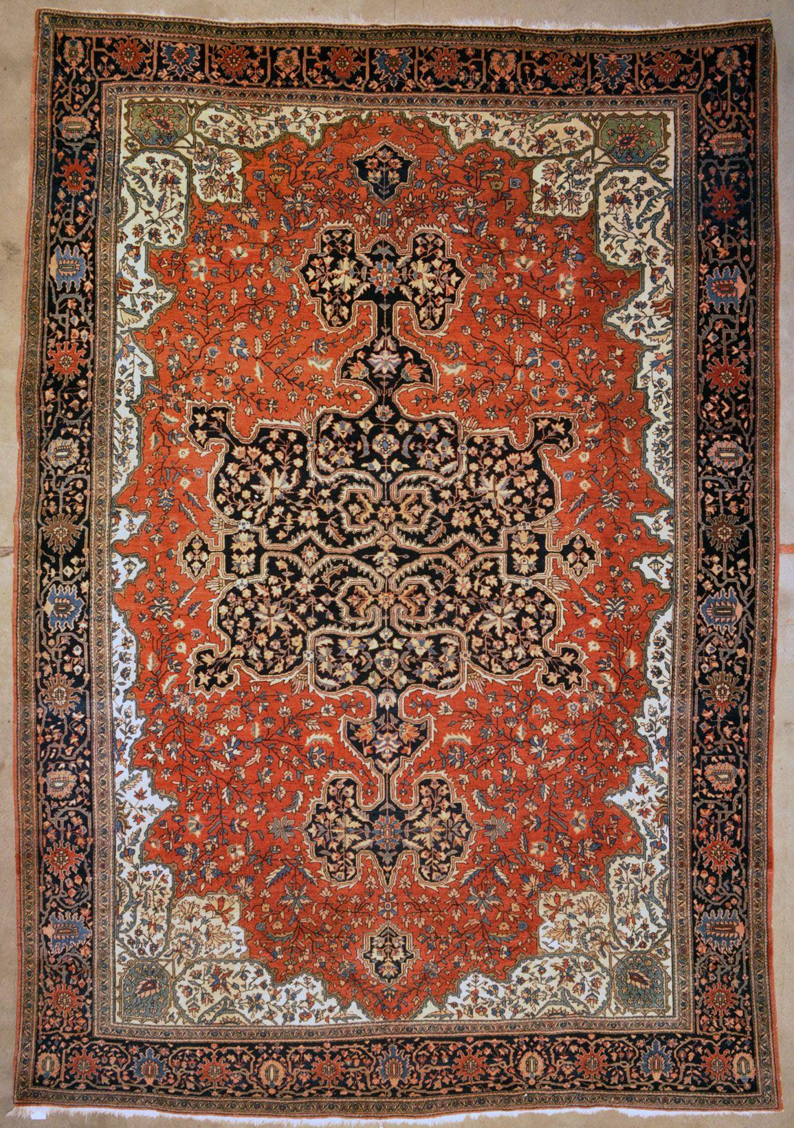 Antique Farahan Sarouk Rug Rugs More Rugs 6x9 Area Rugs Antique Persian Rug