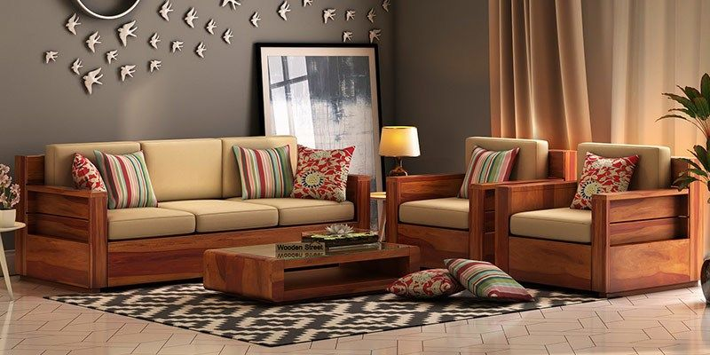 Get The Complete Unique Range Of Wooden Furniture In Noida At Cheap Price Explore The Complete Wooden Sofa Set Designs Wooden Sofa Designs Latest Sofa Designs
