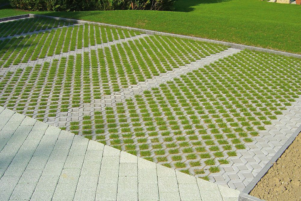 Meba Concrete Grass Square By Uhl Archiexpo Permeable