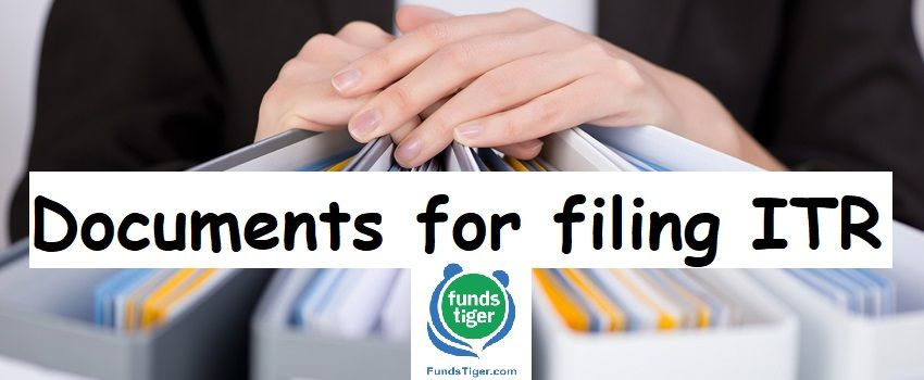 Documents Required For Filing Itr Without Trouble Unsecured Loans Personal Loans Financial Advice
