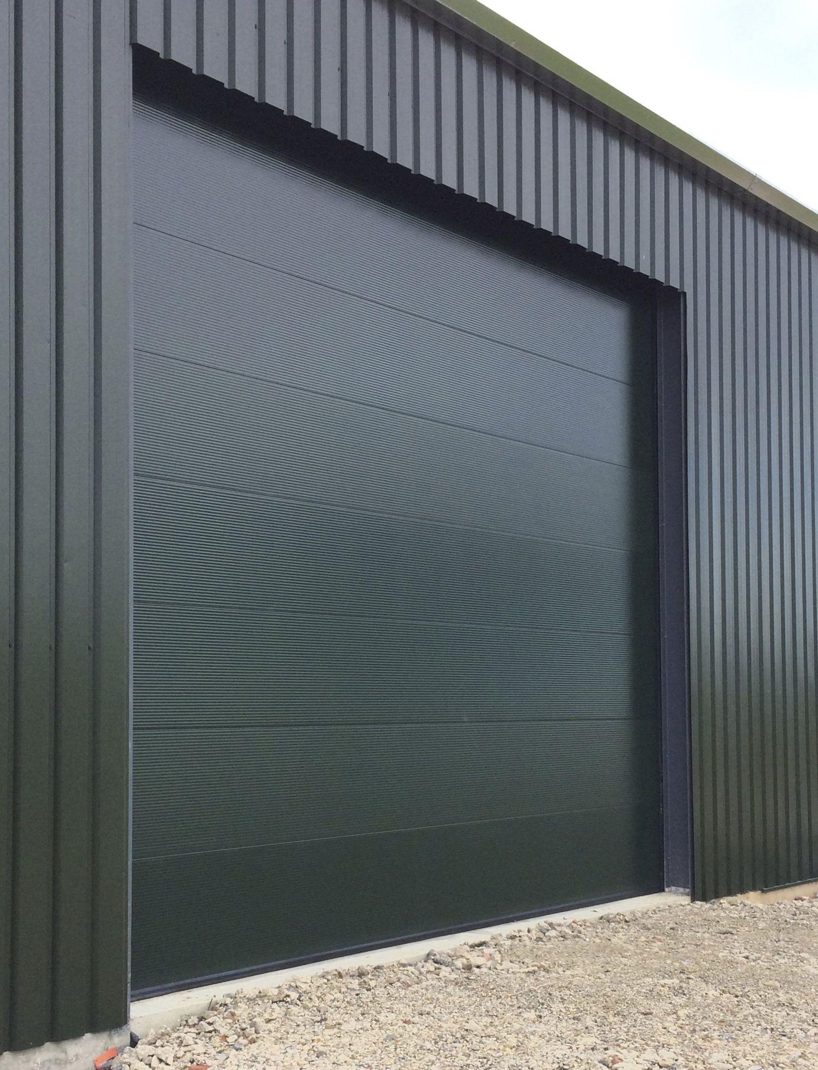 Sectional Overhead Door Installed By Cambridge Door Services Ltd