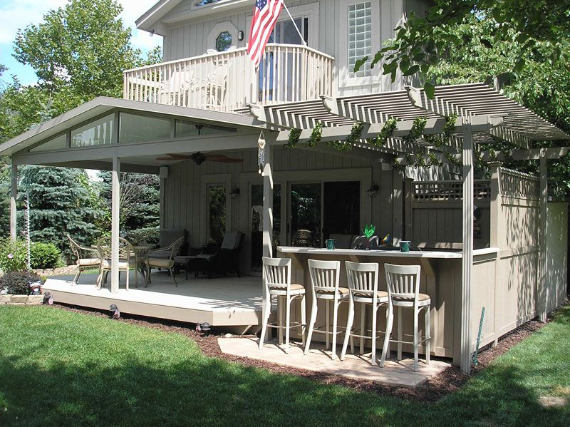 Patio Roof Pergola | Patio Cover Kits | Solid Roof Patio Covers