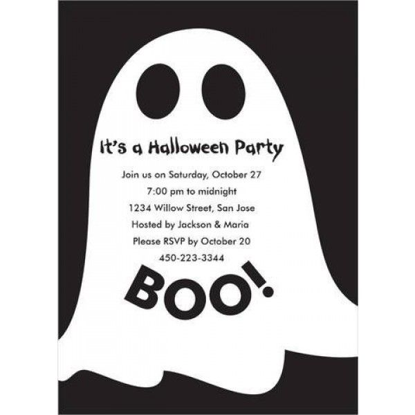 Halloween Ghost Invitations Halloween invitations and Halloween ghosts - halloween poster ideas