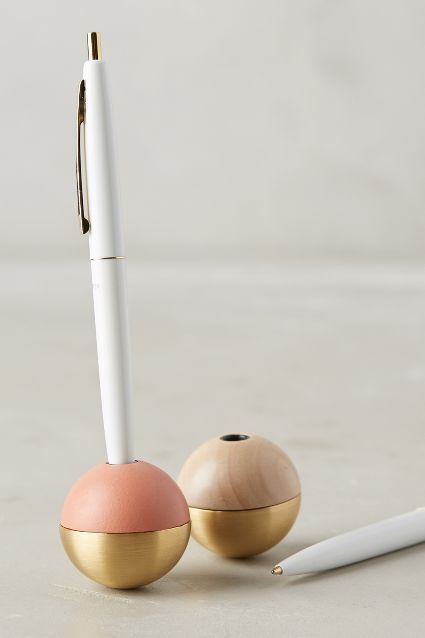 Tipsy Writer Pen & Stand - anthropologie.com #anthrofave