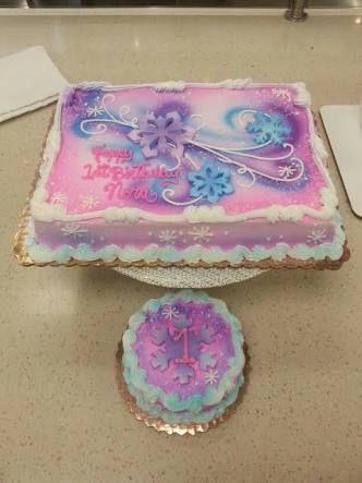 Image result for girl 1st birthday sheet cake Cake decor
