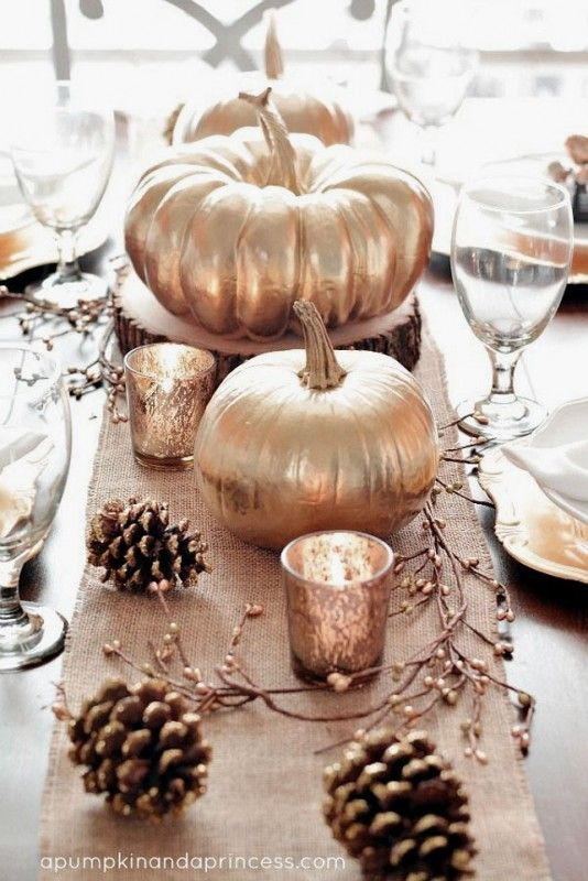 Ideas Fancy Thanksgiving Centerpieces Decorating Ideas With Gold
