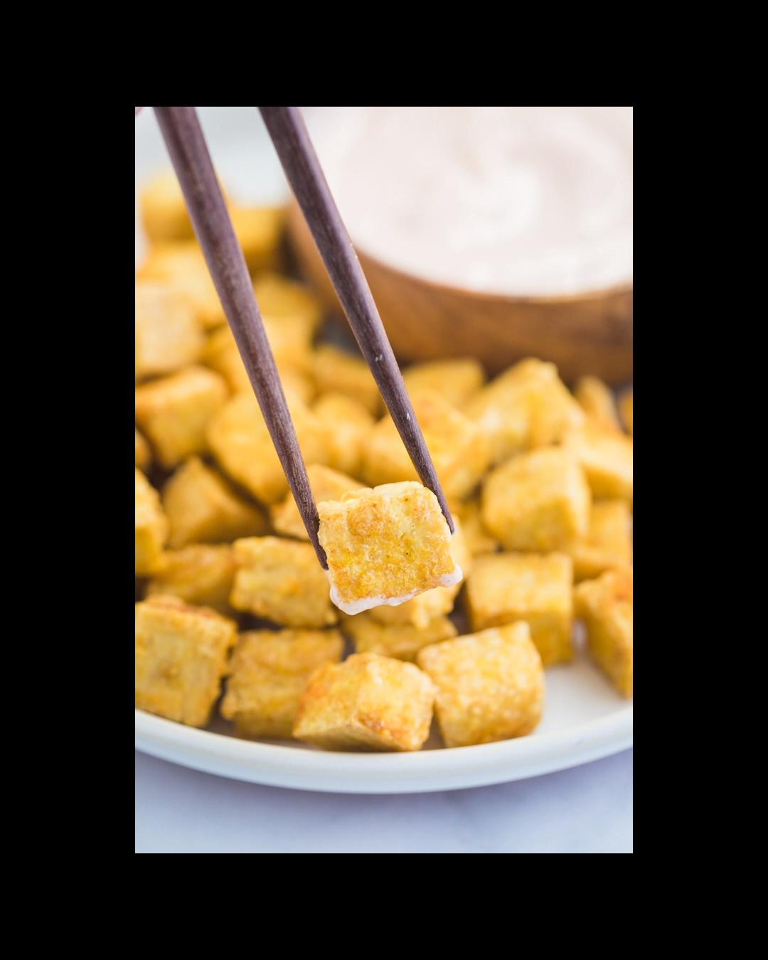 Perfect Crispy Baked Tofu Recipes In 2019 Vegan Recipes