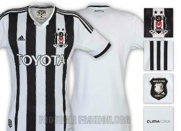 Beşiktaş JK 2013/14 adidas Home Jersey