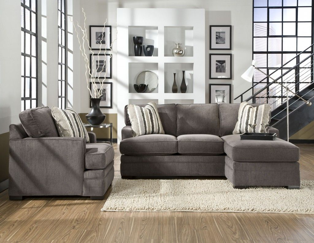 Living Room Ideas Featuring Neptune Sofa With Chaise By Jonathan Louis At Kensington Furniture