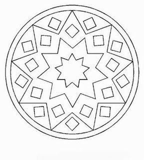 Mandalas Para Pintar Mandalas Para Colorir Padroes De Mosaico