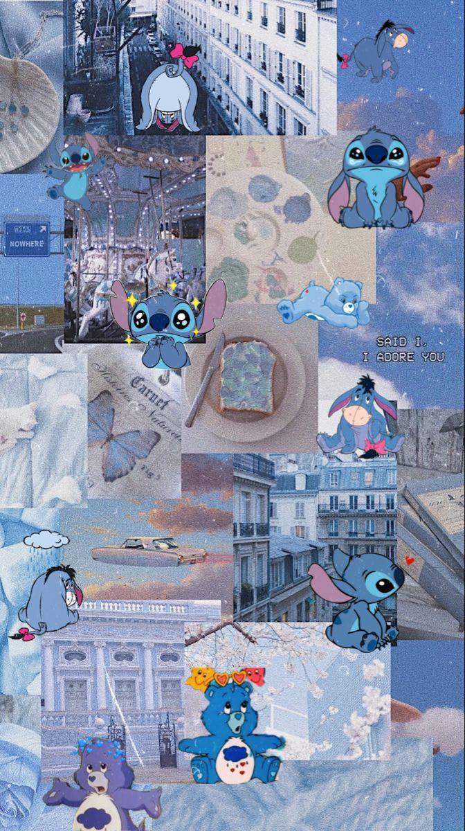 blue wallpaper blue wallpaper character