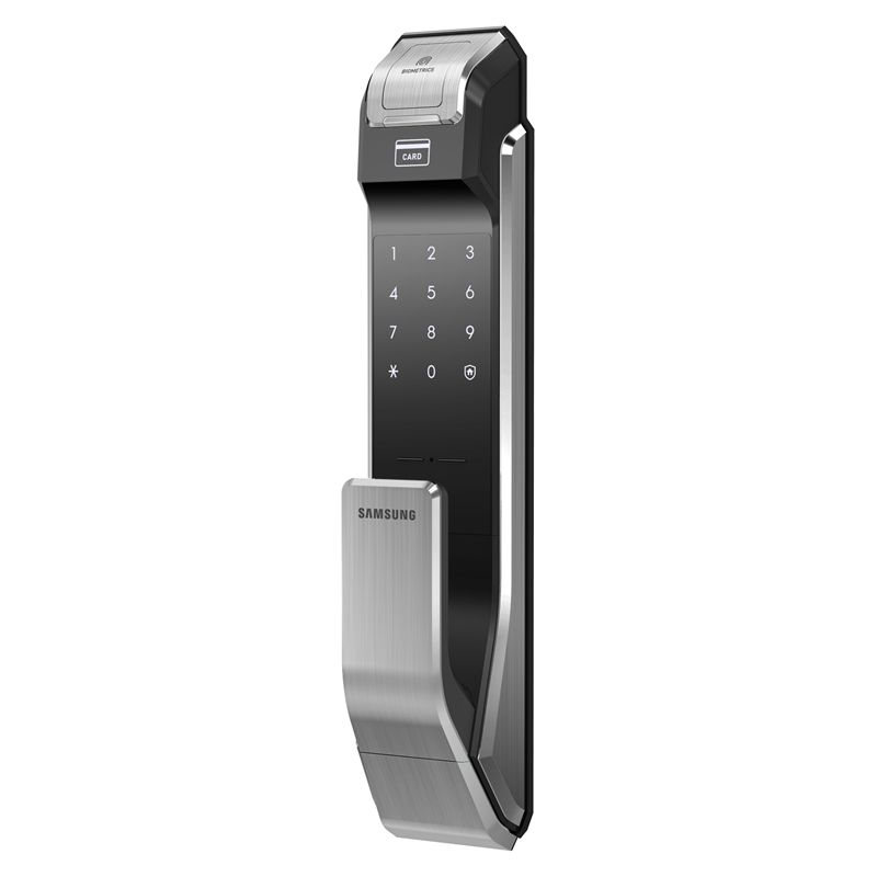 Find Samsung Smart Push Pull Digital Door Lock Biometric Fingerprint At  Bunnings Warehouse. Visit Your