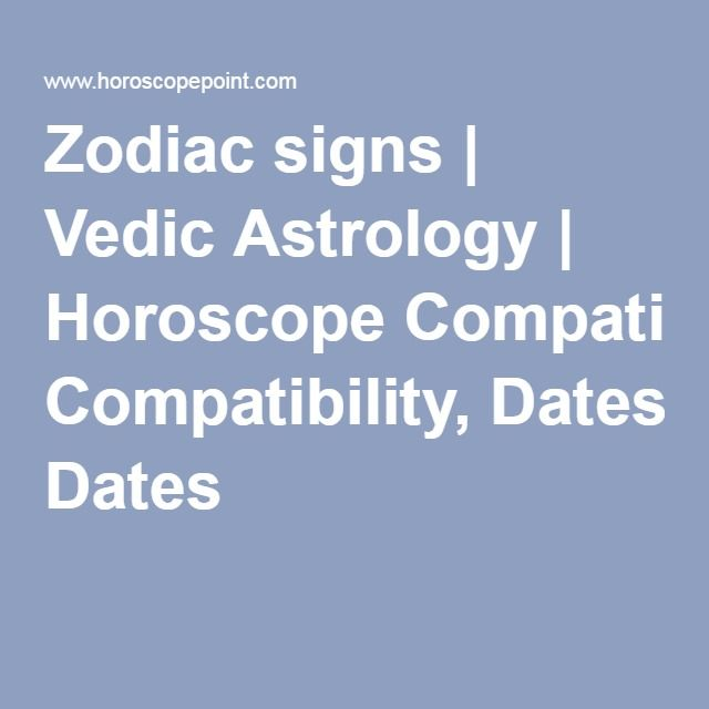 Vedic sign compatibility