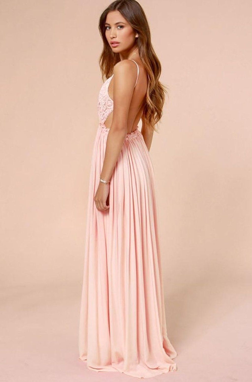 Something Special Crochet Maxi Dress - Blush | What my closet is ...