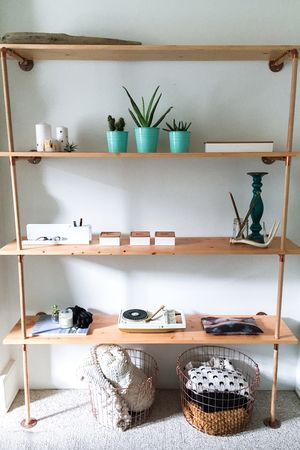 diy for the home shelf unitjpeg Home diy Pinterest - küche aus beton selbst bauen