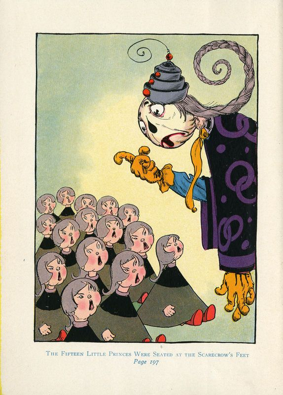 The royal book of Oz Illustrator - John R. Neill