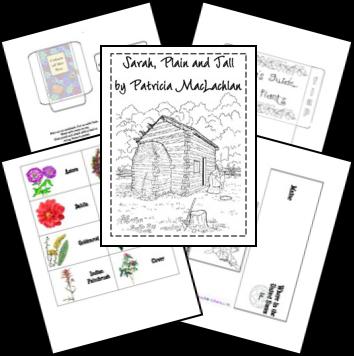 sarah plain and tall lapbooks pinterest homeschool school and literature. Black Bedroom Furniture Sets. Home Design Ideas