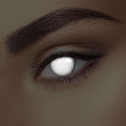 I Glow White Screen Uv Contact Lenses Pair Uv Contact Lenses Contact Lenses Lenses