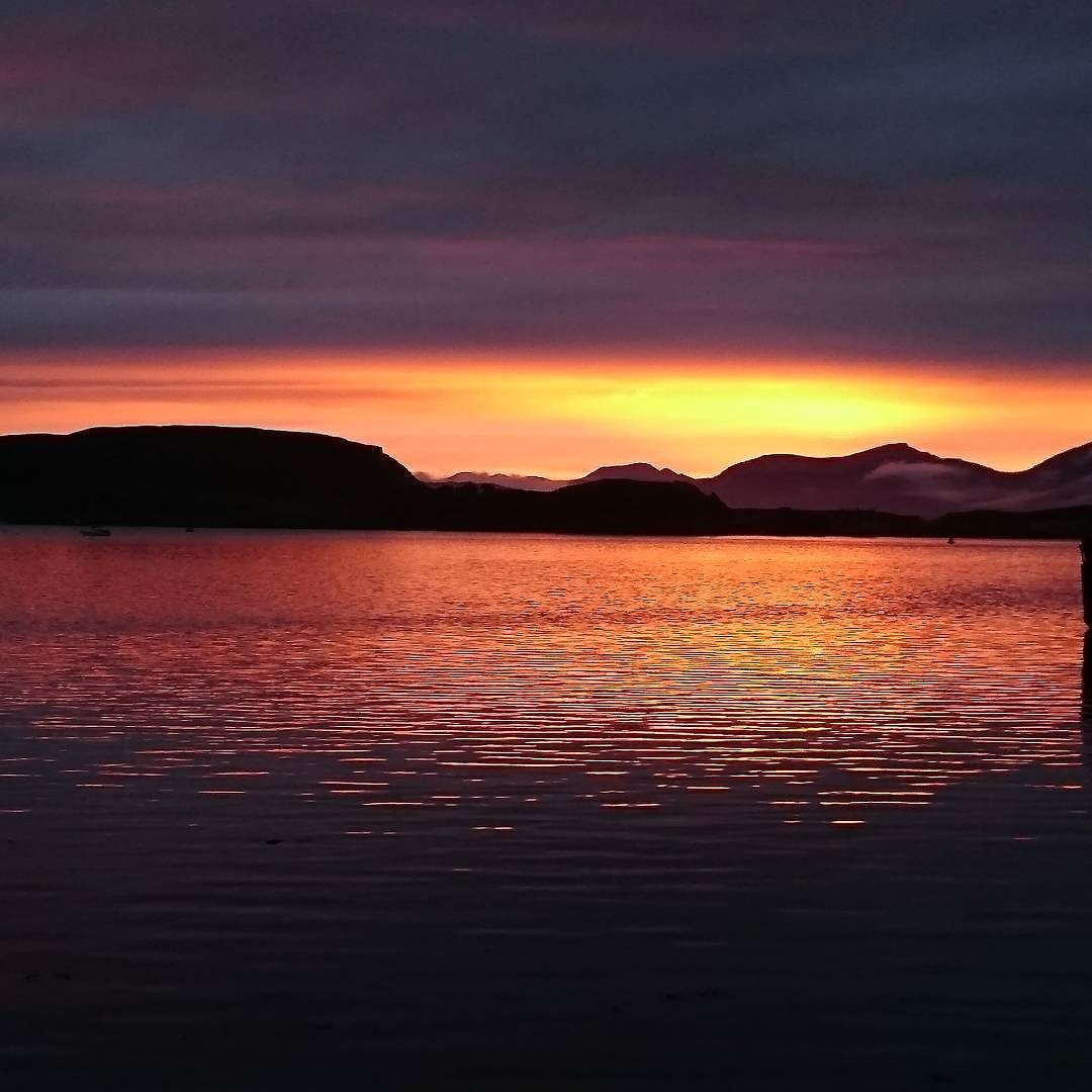 The Calm After The Storm In Oban Scotland Holiday Sunset Calm After The Storm Instagram Sunset