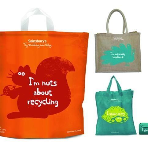 Reusable Bag Designs Google Search Ping Design Bags Sainsburys