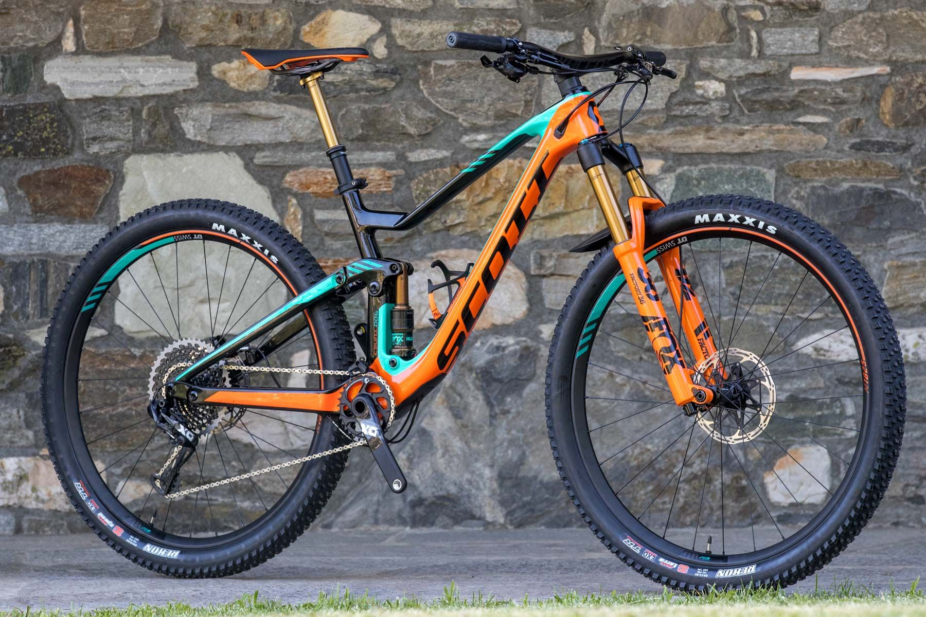 2018 Scott Genius First Ride Flow Mountain Bike Mtb Bikes